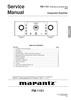 Thumbnail Marantz PM-11S1 Service Manual