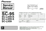 Pioneer SC-95 Home Cinema Receiver Service Manual