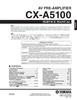 Thumbnail Yamaha Cx-a5100 11.2 Ch Preamplifier Service Manual